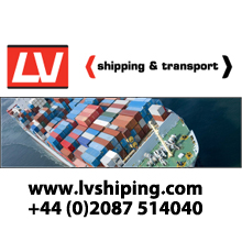 LV shipping and transport logo