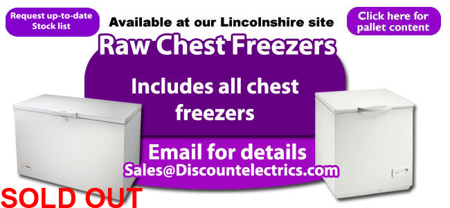 Raw chest freezers