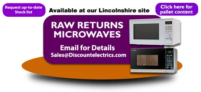 raw returns microwaves