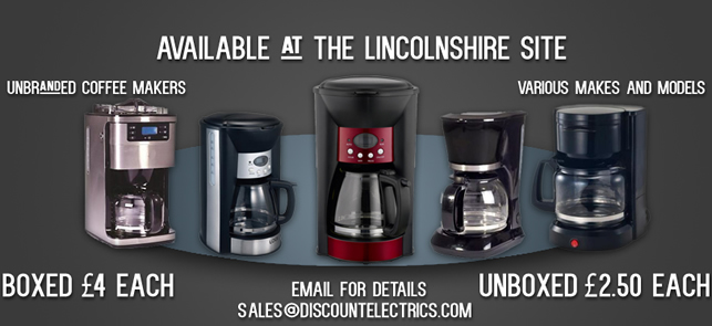 unbranded coffee makers stock
