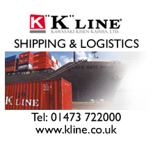 K-Line shipping and logistics logo