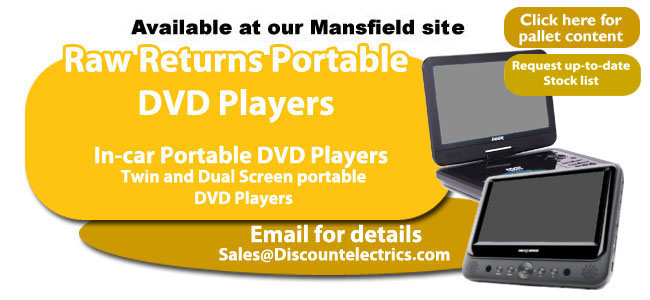 raw returns portable dvd players