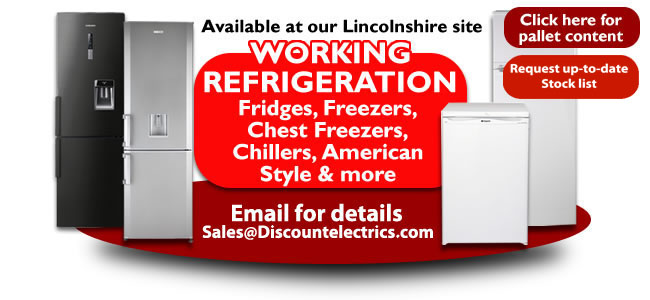 working refrigeration fridges freezers